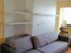 Sofa lova su pakeliama Lova ir Lentynomis